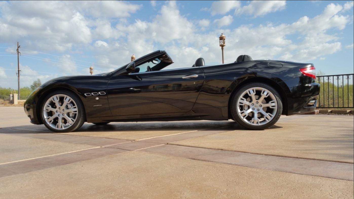 SOLD.. 2010 Maserati Gran Turismo Triple Black Convertible!!