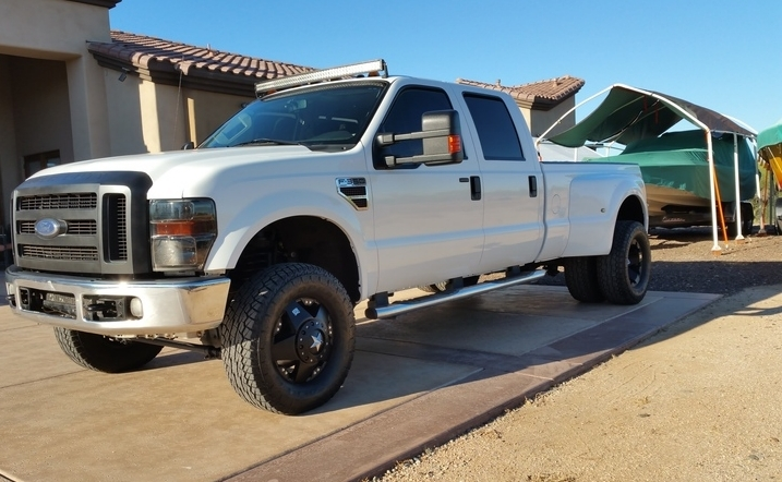 2008 Ford F350 Crew Cab Lariat Dually 4×4 Powerstroke Diesel Twin Turbo 6.4
