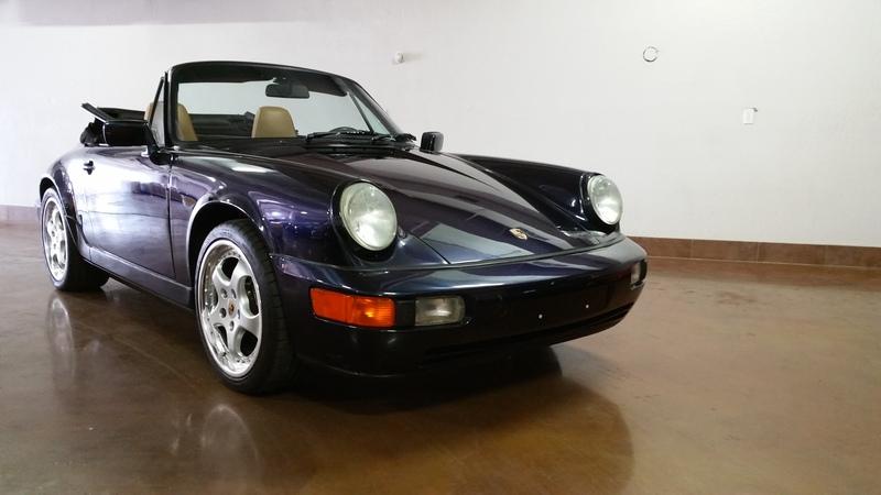 SOLD.. 1991 Porsche 964 Cabriolet 5 Speed 78k mi. w upgrades