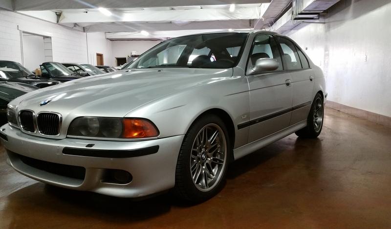 2000 BMW M5 6 Speed