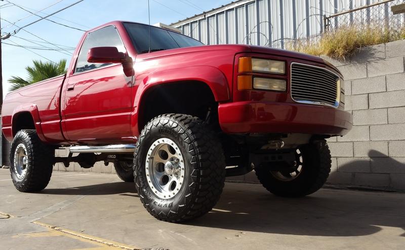 1991 Chevy Silverado Lifted 4×4