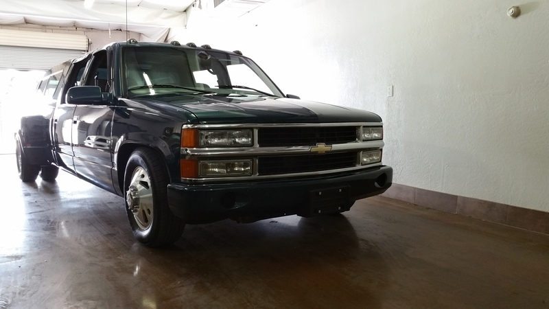 1997 Chevy 1 Ton Dually Crew Lowered