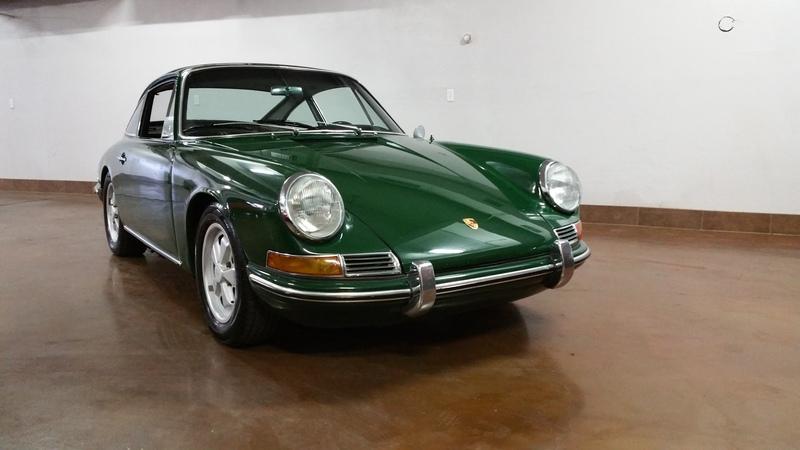1965 Porsche 911 Irish Green ORIGINAL #'S MATCHING CAR