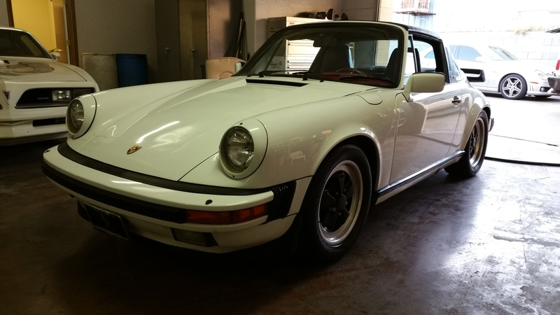 SOLD.. 1985 Porsche 911 Original White Paint 71k mi.