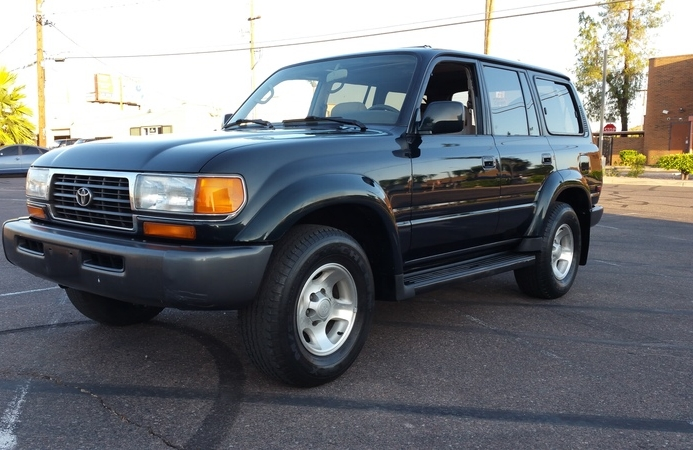 1997 Toyota Land Cruiser 1 Owner 43 Service Records on Carfax..