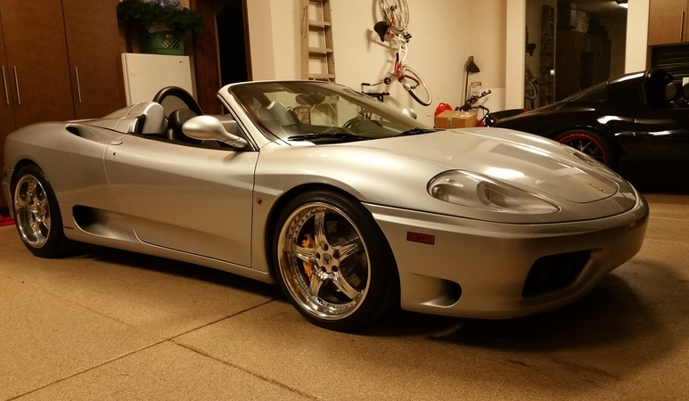 2003 Ferrari 360 Modena Spider 6 Speed Manual!!
