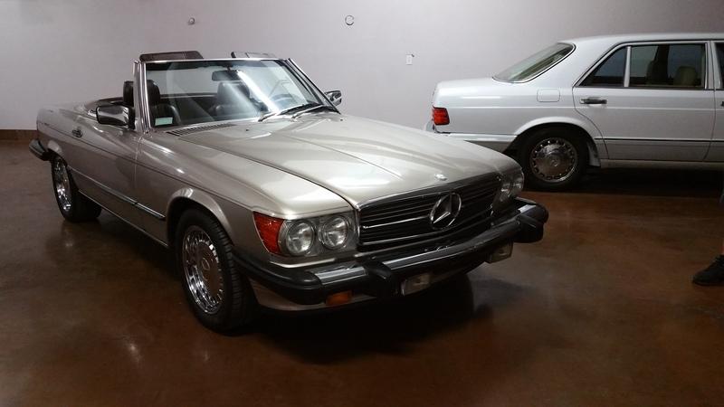 1988 Mercedes 560SL 71k mi. Champagne on Brown