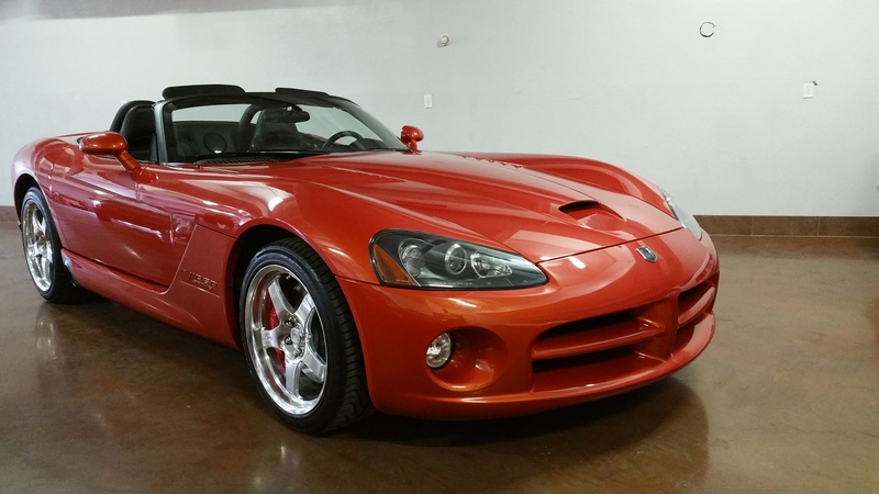 SOLD.. 2005 Dodge Viper 1,500 Miles Copperhead #5 of 300 made