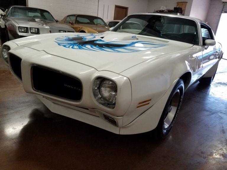 SOLD.. 1973 Pontiac Trans Am #'s match 455 4spd AZ Car