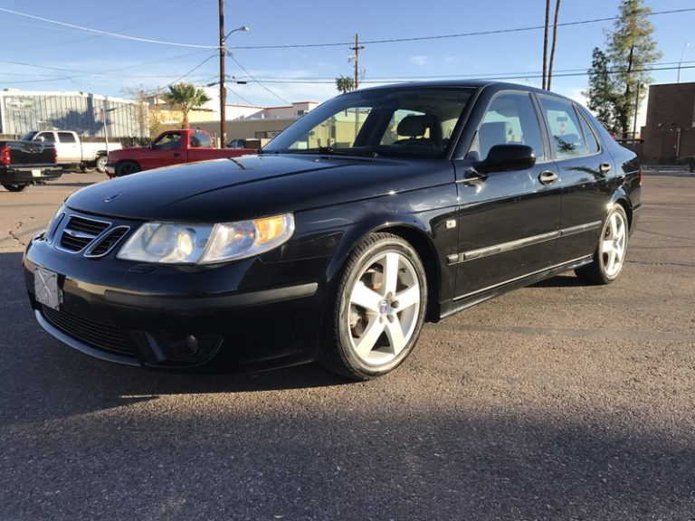 2004 Saab 9-5 AERO.. Black Black 5 Speed Manual