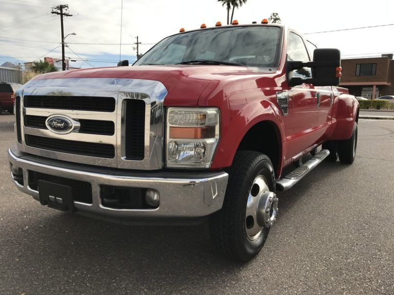 SOLD.. 2008 Ford F350 6.4 Twin Turbo Diesel 4×4 Lariat Dually