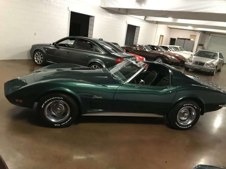 1973 Corvette Metallic Green, 4 Spd, AC