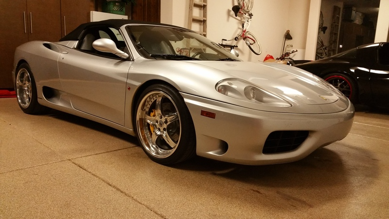 2003 Ferrari 360 **6 SPEED MANUAL**