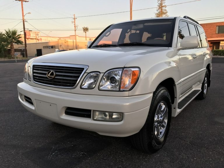 2000 Lexus LX470 Stunning Pearl White Factory Paint