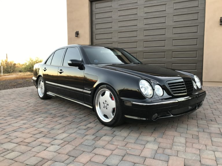 2002 Mercedes E55 AMG **SUPERCHARGED**