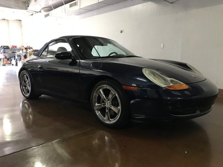 1999 Porsche 966 Cabriolet 6 Speed