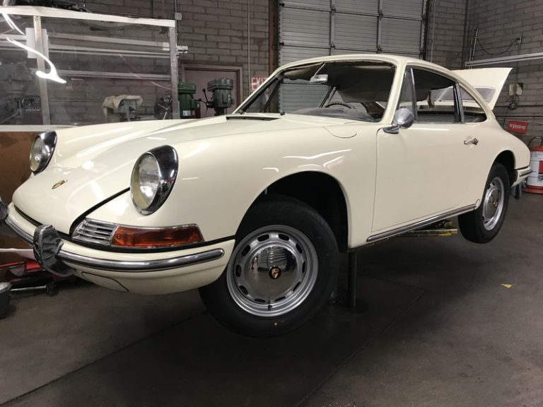 SOLD.. 1966 Porsche 911, #'s Matching Arizona Car, Full Nut and Bolt Restoration
