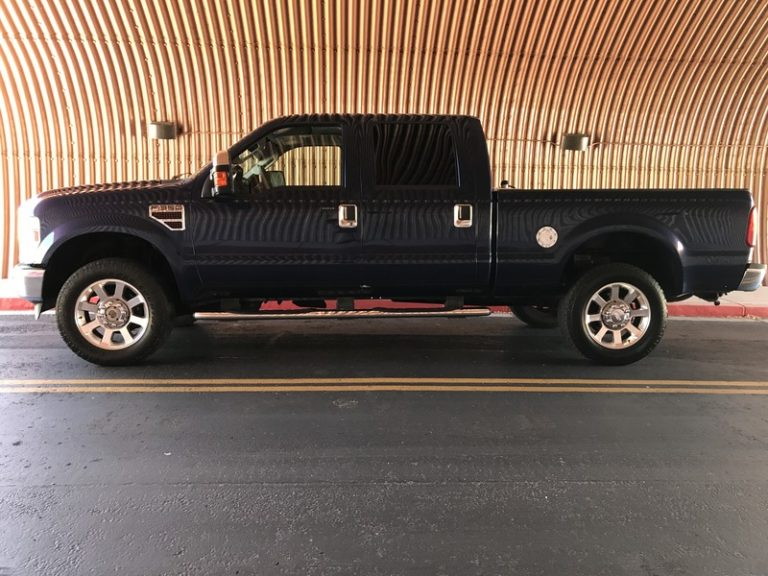 2008 Ford F350 4×4 Diesel Deleted