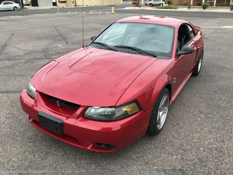 2001 Ford Mustang Cobra   Low Miles