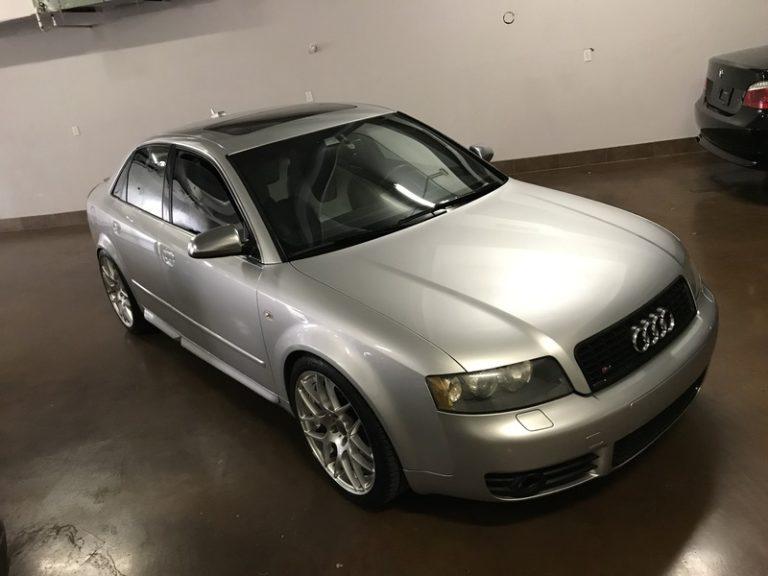 2005 Audi S4 6 Speed