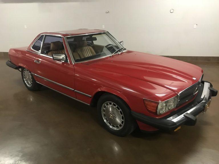 SOLD.. 1986 Mercedes 560SL **Original Factory Paint**