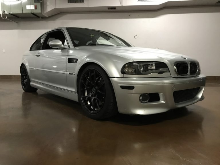 2001 BMW M3 6 Speed Coupe TRACK CAR