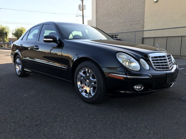 2007 Mercedes E320 BLUETEC Diesel