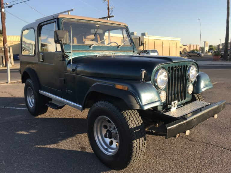 1981 Jeep Wrangler CJ7